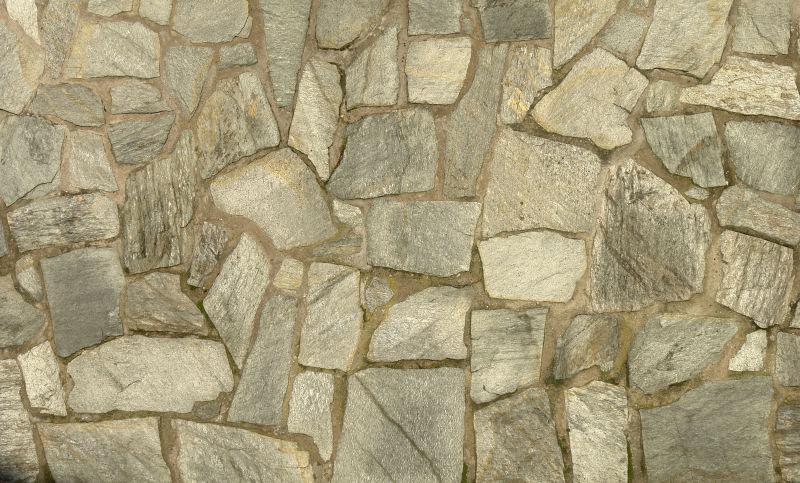 碎石石墙结构背景