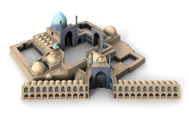 伊朗古城建筑