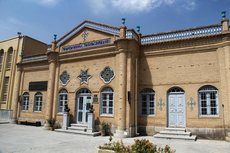 伊朗历史古城建筑