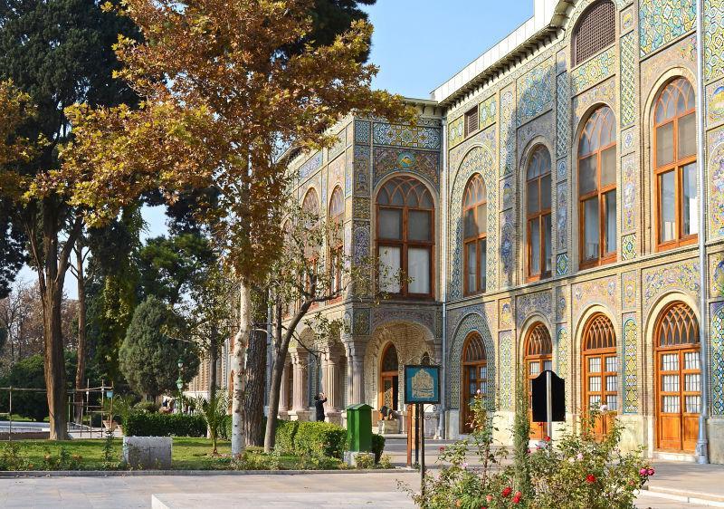 伊朗德黑兰哥利斯坦宫建筑