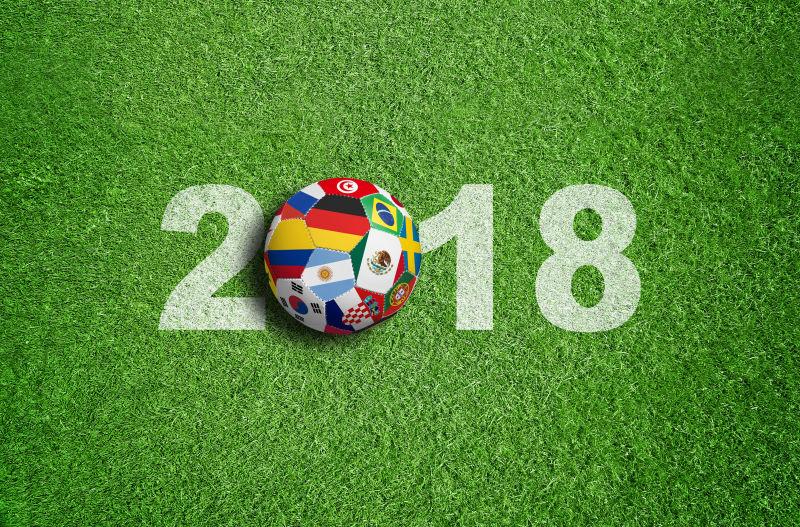 2018足球世界杯海报