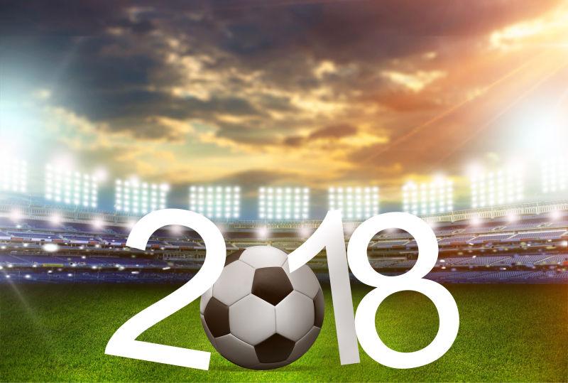 2018足球比赛海报