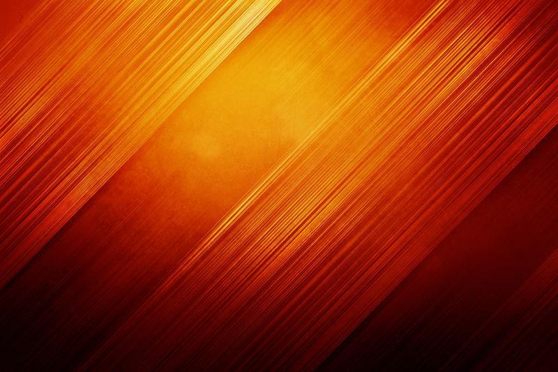 橙红色斜条纹抽象背景