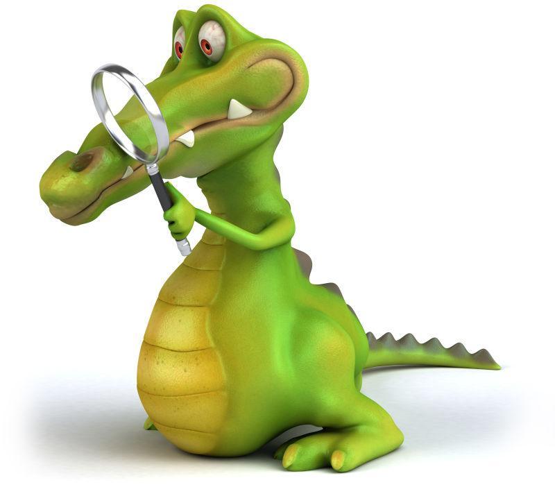 趣味的鳄鱼
