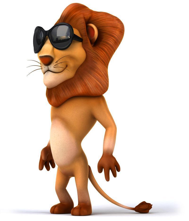 酷帅的狮子