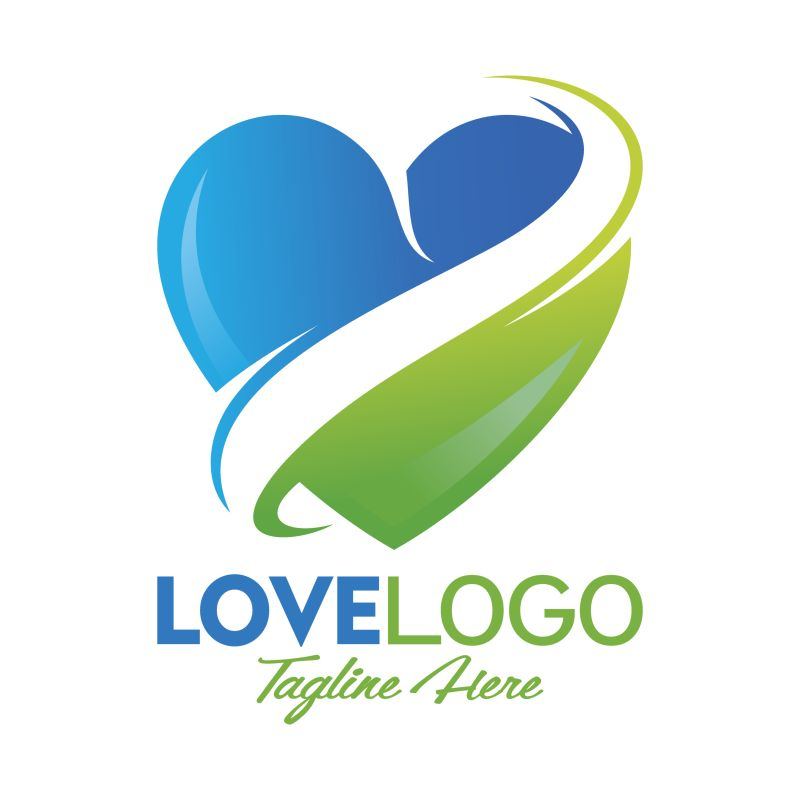 对于餐饮业务分离的LOGO标志