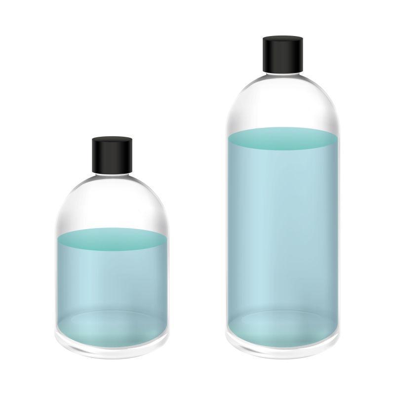 矢量玻璃瓶设计