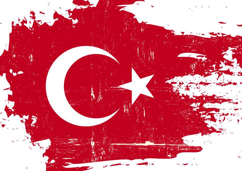 矢量土耳其国旗