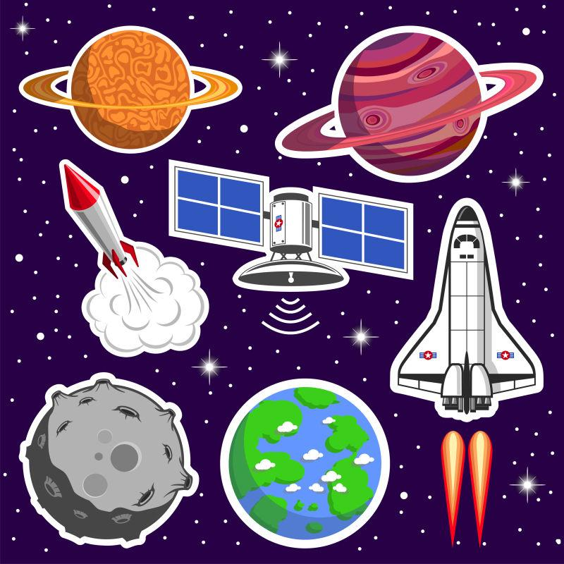 宇宙空间采集矢量