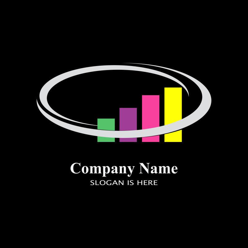 矢量企业财务标识