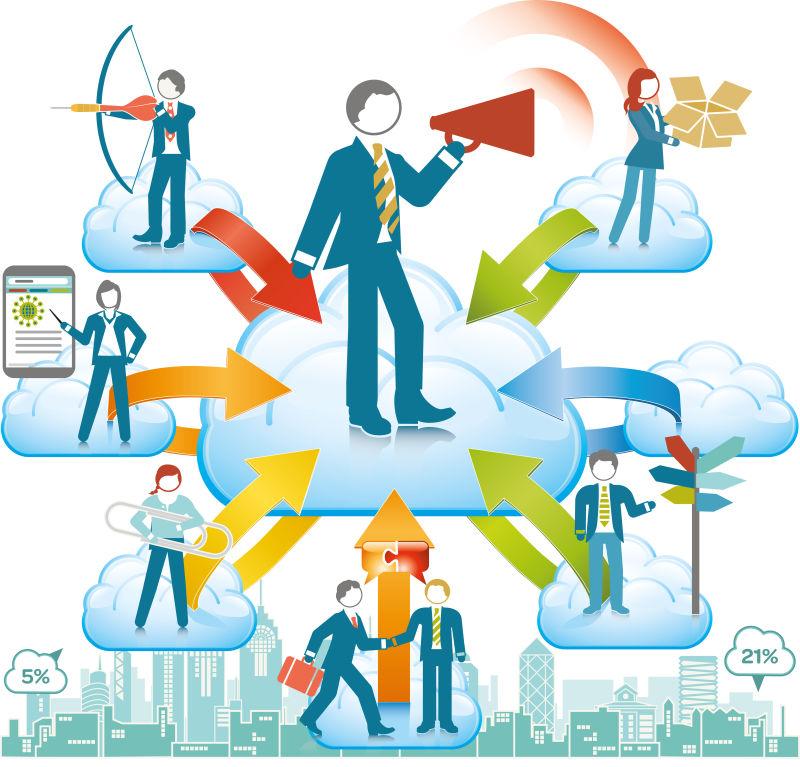 业务反馈概念插图矢量设计