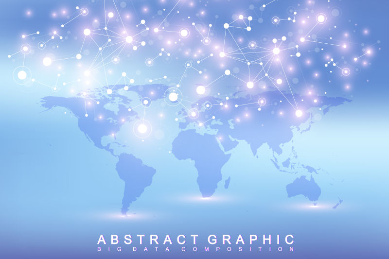 矢量政治世界地图交流