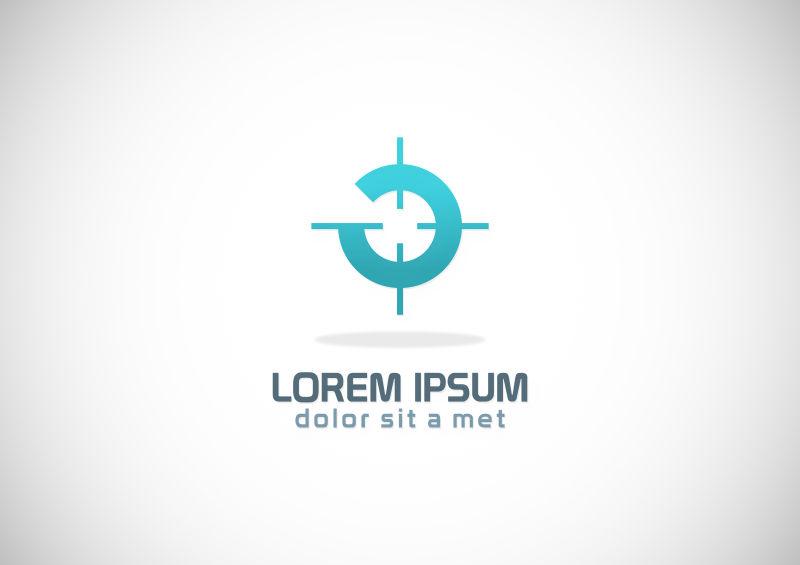 创意矢量目标设计主题标志设计