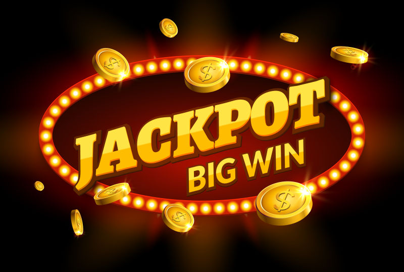 矢量的赌场创意标志设计