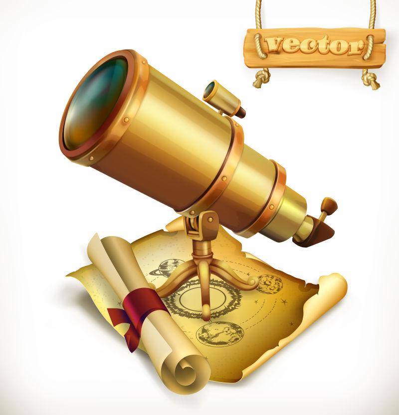 创意矢量海盗主题的三维设计元素