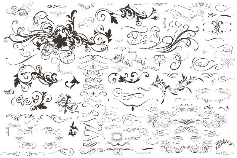 矢量的创意艺术装饰设计