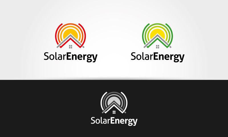 彩色环形标志矢量设计