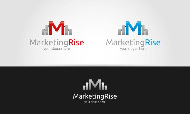矢量的创意营销标志设计