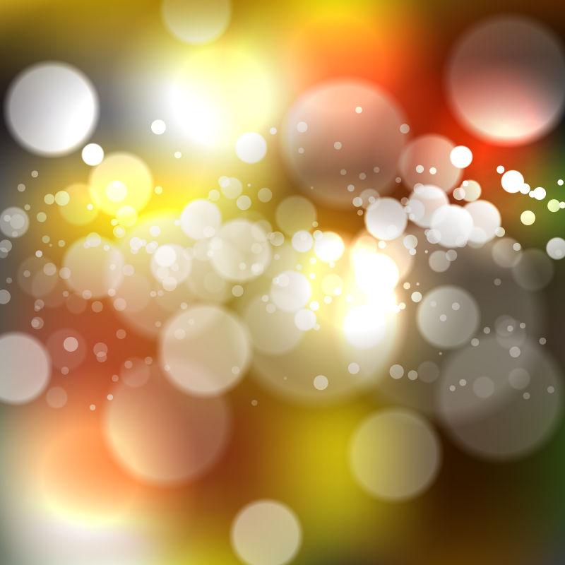 矢量抽象现代光芒元素背景设计