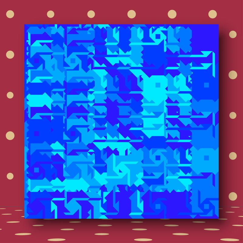 创意矢量几何抽象纹理装饰背景