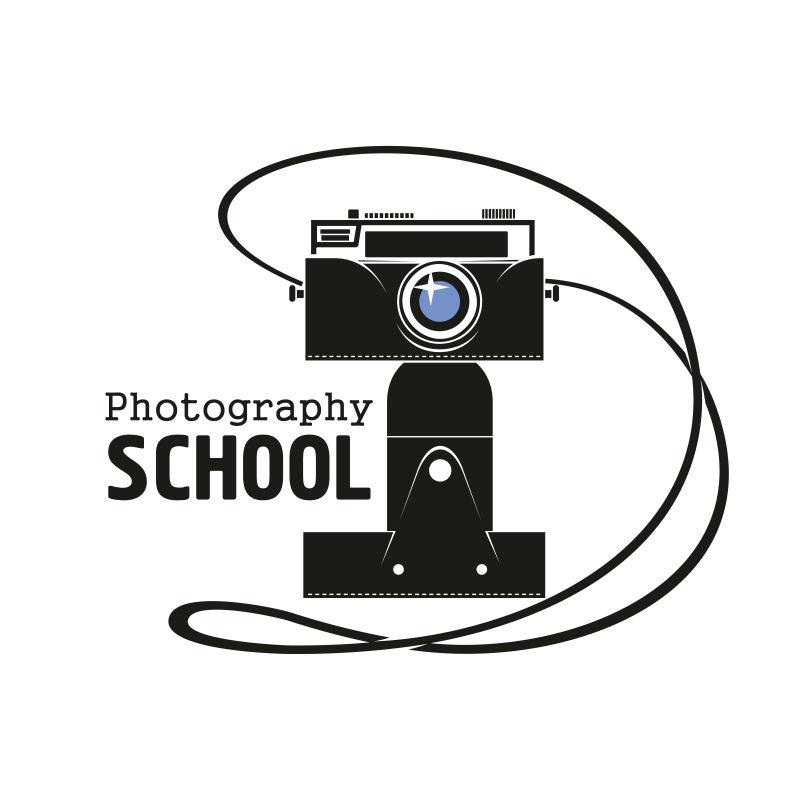 摄影学校摄像机矢量图标