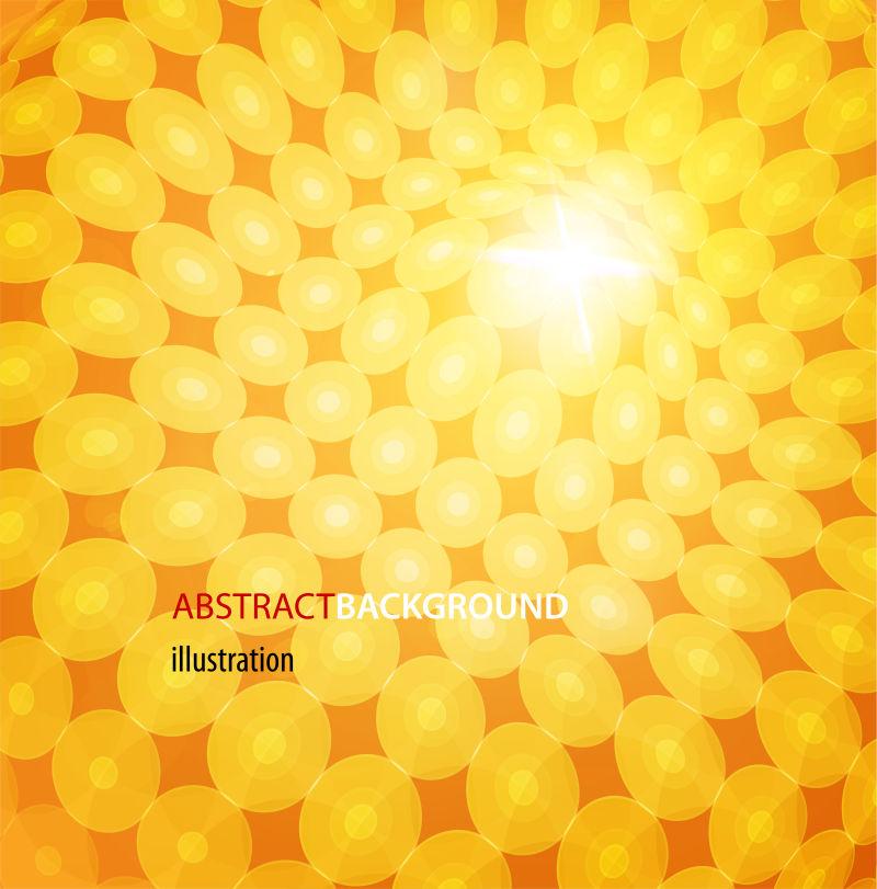 丰富多彩的背景和设计优雅的抽象-矢量图