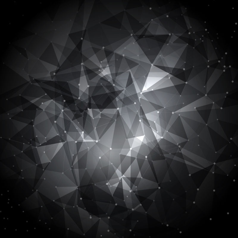 黑色的几何图案背景矢量设计