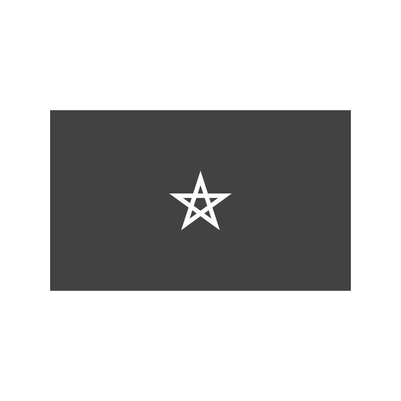黑色星星图案国旗矢量设计