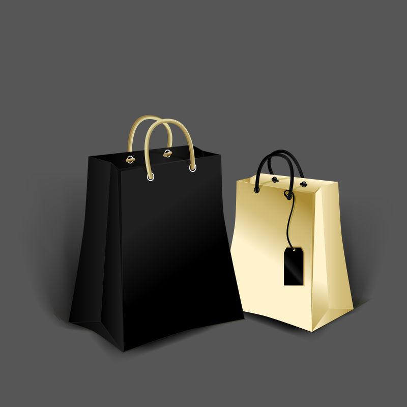 矢量创意纸袋包装设计