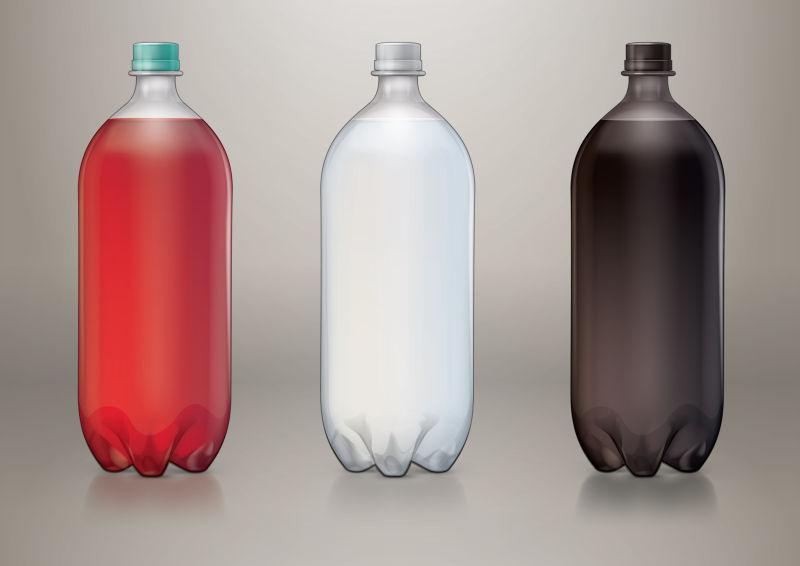 矢量大型汽水瓶设计