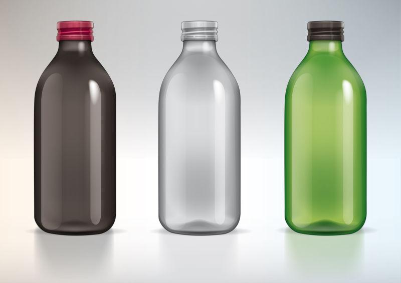 矢量各式瓶子设计