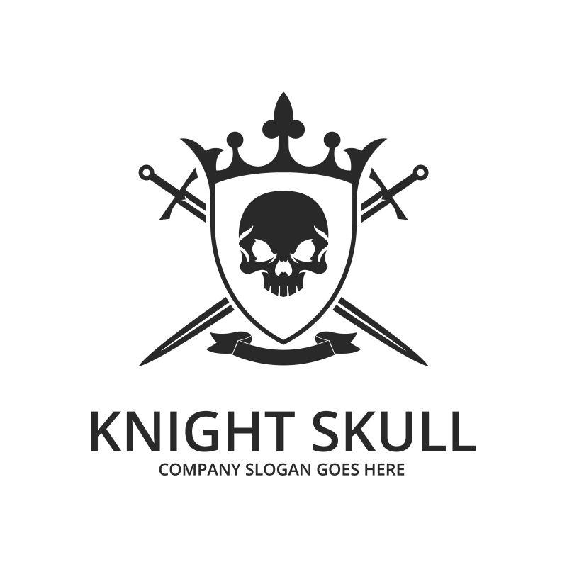 创意的盾牌标志矢量设计