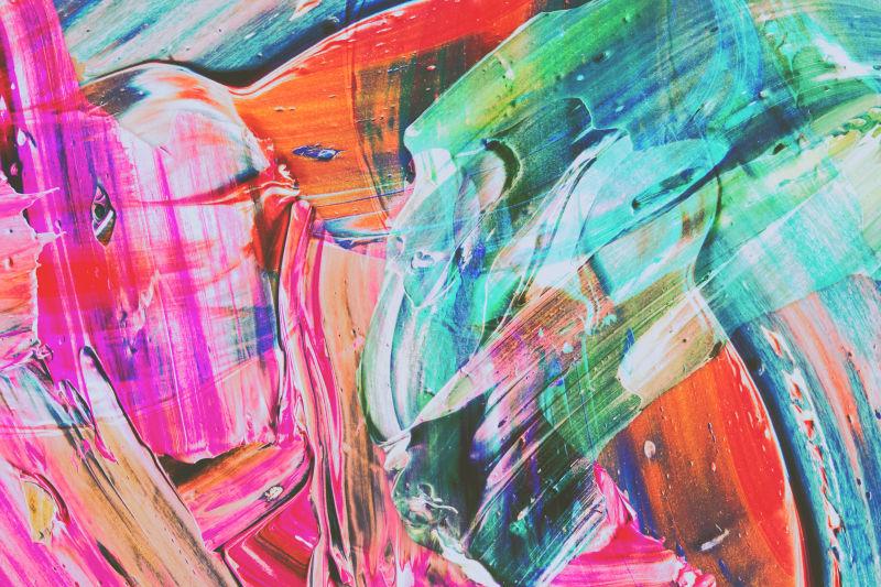 现代抽象笔触元素纹理背景