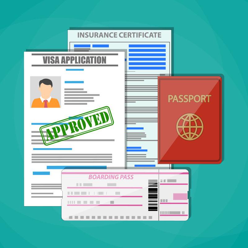 旅行证件概念