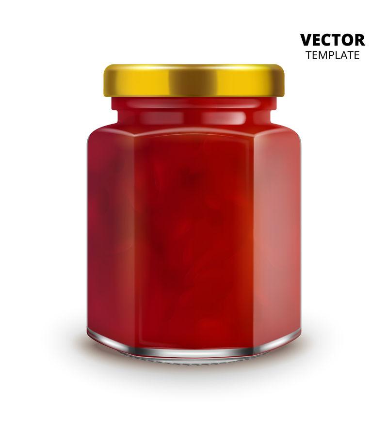 抽象矢量现代果酱设计