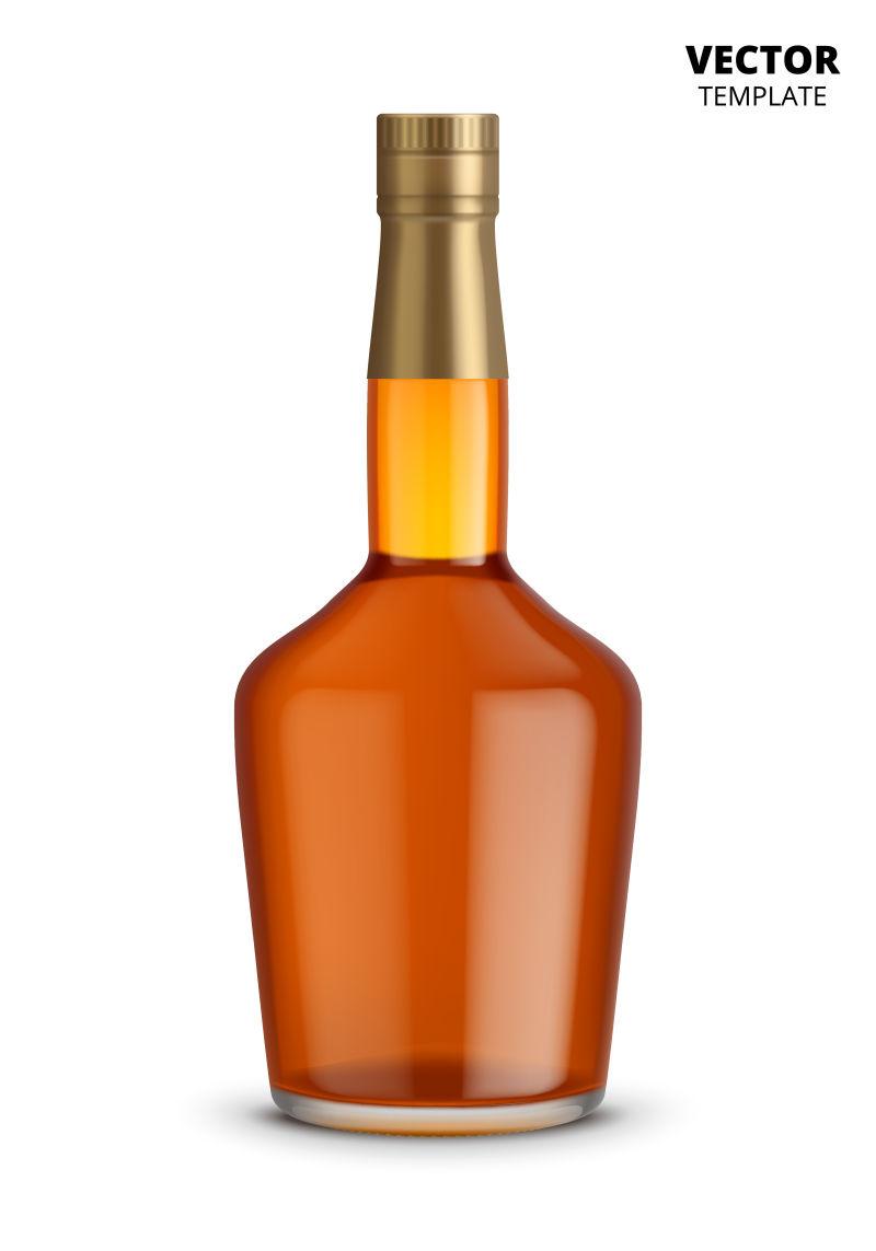 抽象矢量现代包装瓶创意设计
