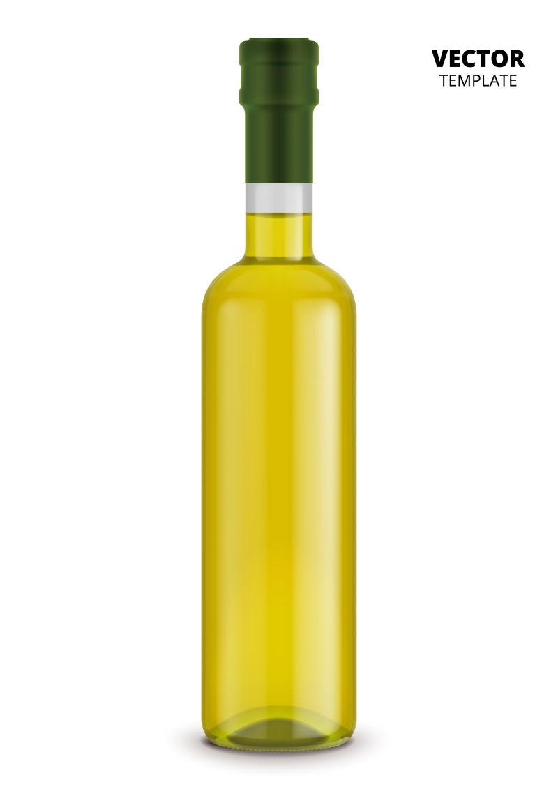 创意矢量葡萄酒瓶设计
