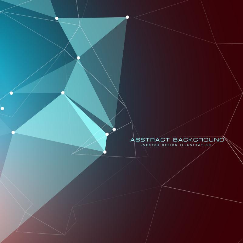 抽象矢量几何风格的设计背景