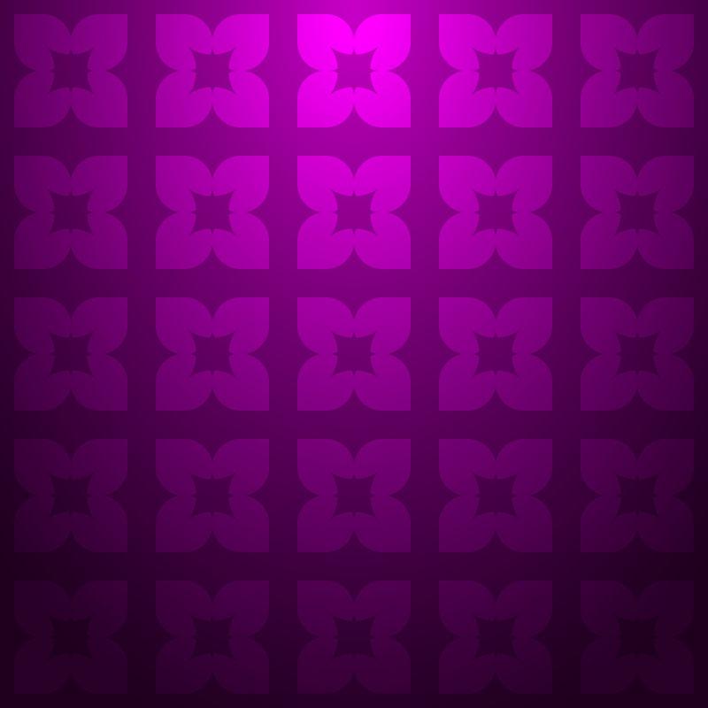 抽象矢量几何花形元素装饰无缝背景