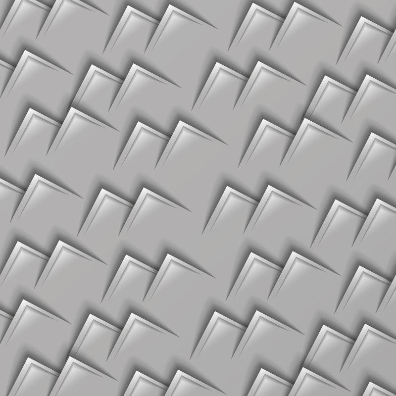 抽象矢量几何叶片元素背景设计