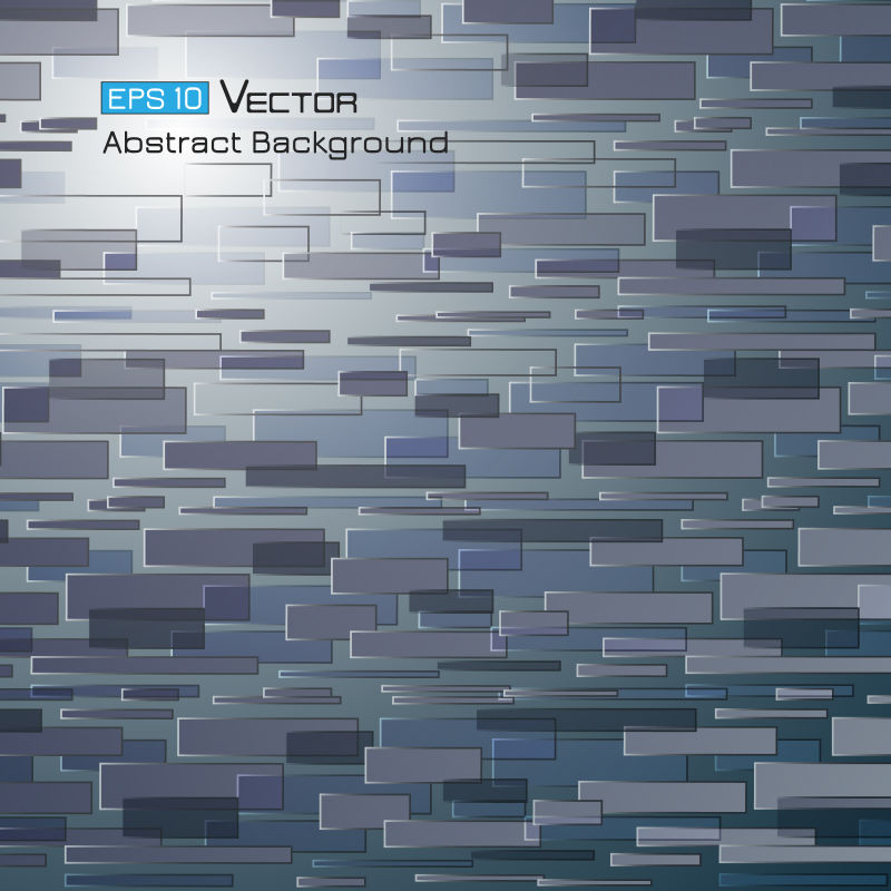 创意矢量现代灰色矩形元素背景设计