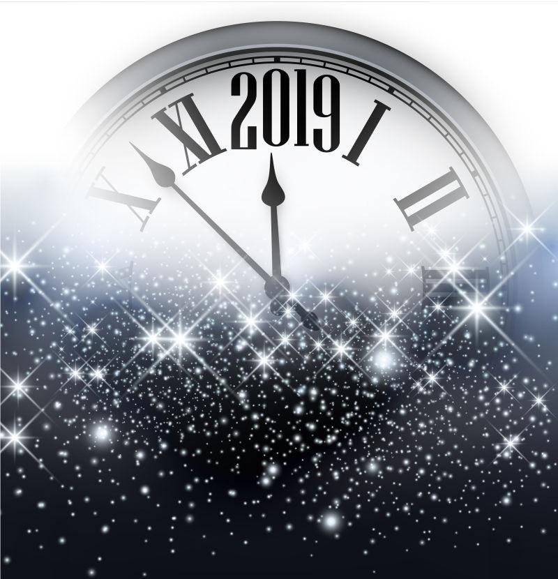 矢量2019时钟设计