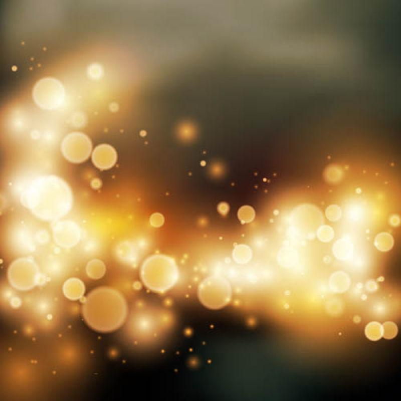 抽象矢量现代金色光晕背景