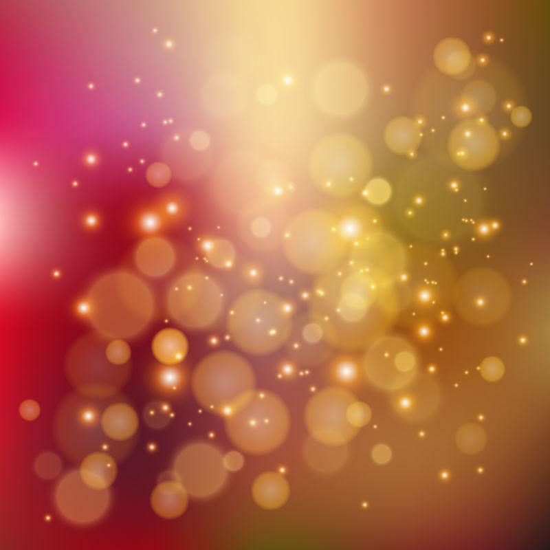 抽象矢量现代彩色光晕设计背景