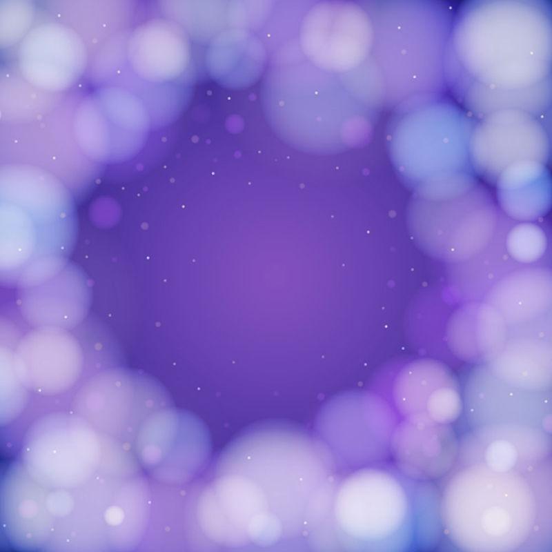 抽象矢量现代紫色光晕背景
