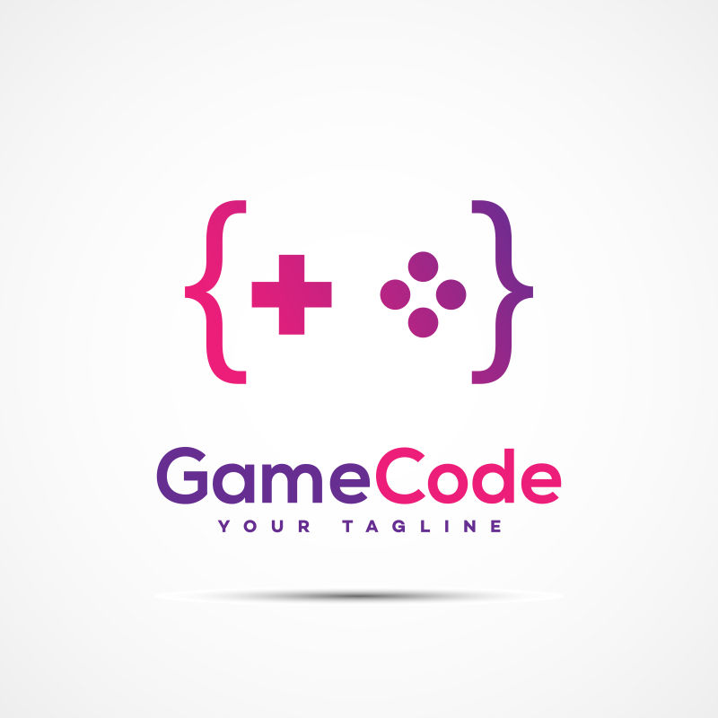创意矢量游戏软件标志设计