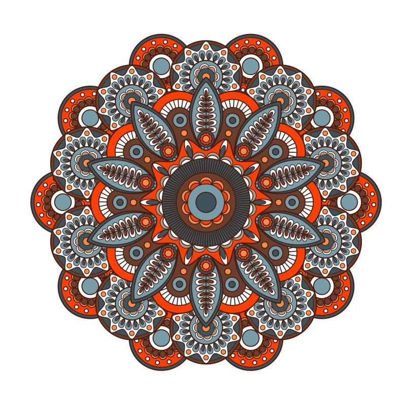 创意矢量现代彩色装饰图案