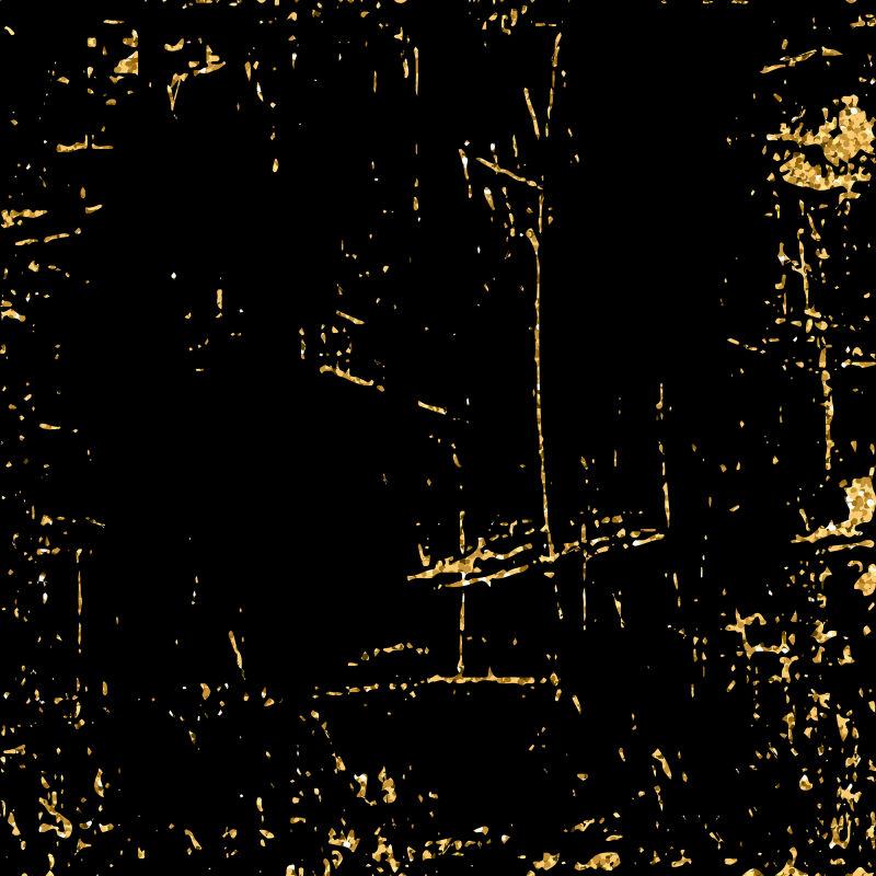 金黄色黑色纹理