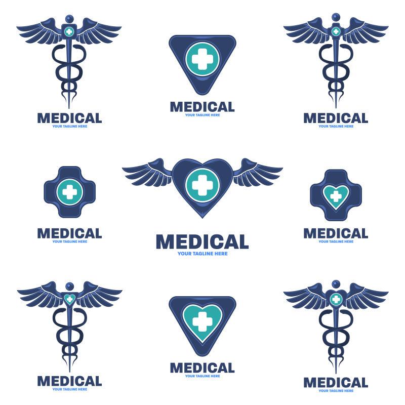 医学标志模板设计