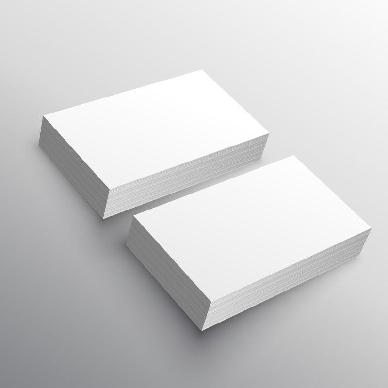 名片展示模型模板